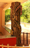 Répteis & estátua dos anfíbios Foto de Stock