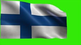 République de la Finlande - drapeau de la Finlande, drapeau finlandais - BOUCLE
