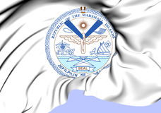 République de Marshall Islands Seal Photographie stock