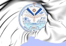 République de Marshall Islands Seal Illustration de Vecteur