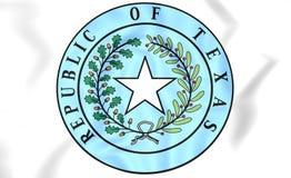 République de Texas Seal Illustration de Vecteur