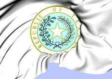 République de Texas Seal Photographie stock libre de droits