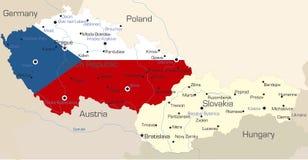 République Tchèque illustration libre de droits