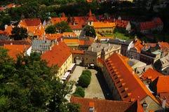république tchèque cesky de krumlov photographie stock
