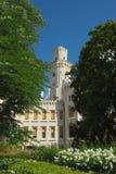 République Tchèque, château Hluboka photos stock