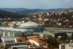 république tchèque d'expositions de centre de Brno photo stock