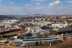 république tchèque d'expositions de centre de Brno Photo libre de droits