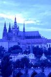 république tchèque de Prague de château Images libres de droits