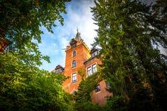 République Tchèque rouge de château (Cerveny Hradek) Photo stock