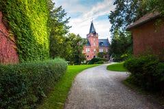 République Tchèque rouge de château (Cerveny Hradek) Image libre de droits