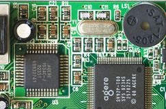 Réseau électrique Photographie stock libre de droits