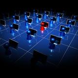 réseau 03 Photo libre de droits