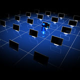 réseau 06 Image libre de droits