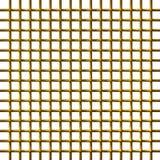 réseau 3D d'or Image stock