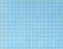 Réseau blanc sur le bleu image stock