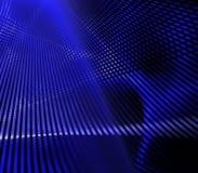 Réseau bleu Image libre de droits