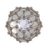 Réseau cristallin illustration de vecteur