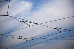 Réseau de câbles Photographie stock libre de droits