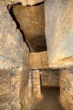 Réseau de catacombes, Odessa, Ukraine Image libre de droits