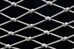 Réseau de corde photographie stock libre de droits