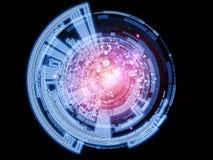 Réseau de disque illustration de vecteur