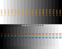 Réseau de gamme de gris Images libres de droits