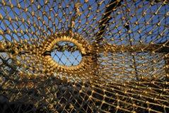 Réseau de langoustine Photographie stock libre de droits