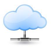 Réseau de nuage Images stock