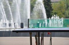 Réseau de ping-pong Photos libres de droits