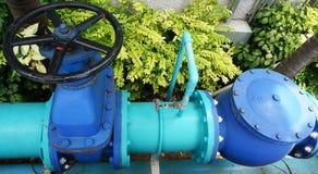 Réseau de pipe-lines de l'eau Photos libres de droits