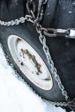 Réseau de pneu Photo libre de droits