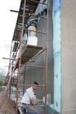 Réseau de stuc Photos stock