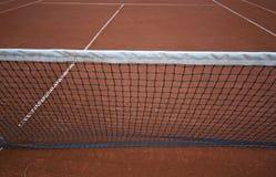 Réseau de tennis Photos stock