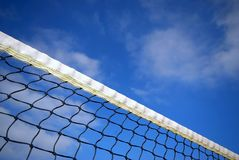 Réseau de tennis Images libres de droits