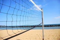 Réseau de volleyball Photographie stock libre de droits