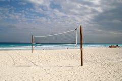 Réseau de volleyball Image stock
