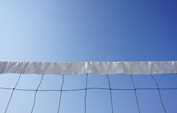 Réseau de volleyball de plage Images libres de droits