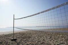 Réseau de volleyball de plage Image stock