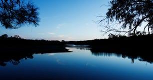 Réseau des étangs images stock