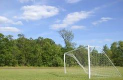Réseau du football Photos libres de droits