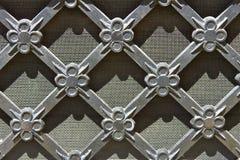 Réseau en métal de cru Photo libre de droits