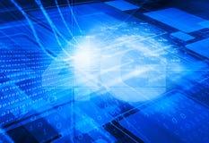 réseau 4G Photo libre de droits