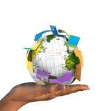 Réseau global Photos libres de droits
