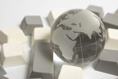 Réseau global Photo stock