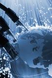 réseau global de câble Photographie stock
