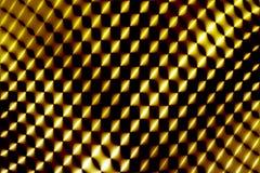 Réseau jaune abstrait Photographie stock libre de droits