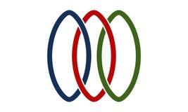 Réseau Logo Design Template Image stock
