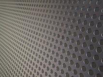 Réseau métallique perforé, fond industriel Images stock
