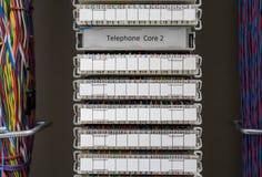 Réseau téléphonique d'autocommutateur privé automatique Photographie stock libre de droits