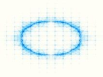Réseau topologique Photographie stock